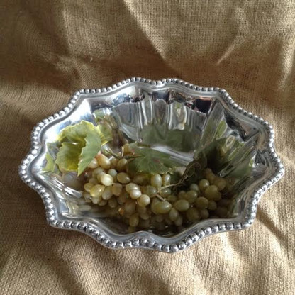 Baroque Beaded Salad Bowl