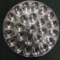 Egg Plate holds 24 eggs!