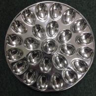 Egg Plate holds 24 eggs!