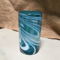 Aqua White Tea Glass