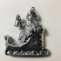 Santa Ornament Front