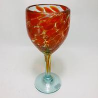 Orange and White Confetti Wine