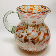 Red and White Pitcher