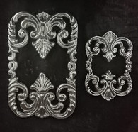 Elegant Trivet shown here in Large and Small, purchased separately