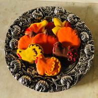 """Pumpkin Round 13"""" Plate"""