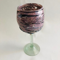 Raspberry with Chocolate Drizzle Goblet