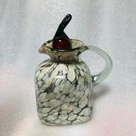 Vinegar Jar with Jalapeno Stopper Beige