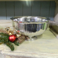Fluted Punch Bowl