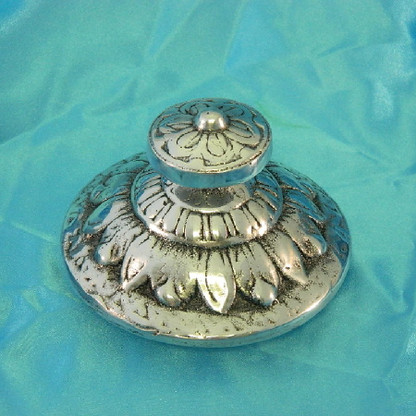 One of our best selling lids!  The ornate lid looks great on any canister!
