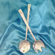 Cabbage Leaf Salad Servers