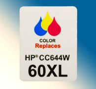4705, Label HP 60XL CC644W Color - Sheet of 77 Labels