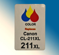 4721, Label Canon CL-211xl  Color