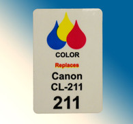 4722, Label Canon CL-211 Color