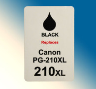 4724, Label Canon PG-210xl Black - Sheet of 63 Labels