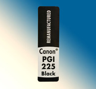 4762, Label Canon PGI-225 Black