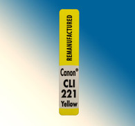 4768, Label Canon CLI-221 Yellow