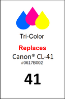 4855, Label Canon CL- 41 Color