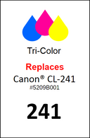 4931, Label, Canon CL-241 - Sheet of 63 Labels