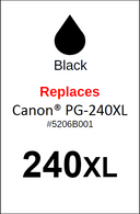 4932, Label, Canon PG-240XL - Sheet of 63 Labels