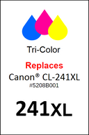 4933, Label, Canon CL-241XL - Sheet of 63 Labels-
