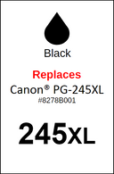 4936, Label, Canon PG-245XL - Sheet of 35 Labels
