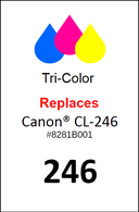 4935, Label, Canon CL-246 - Sheet of 35 Labels