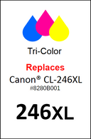 4937, Label, Canon CL-246XL - Sheet of 35 Labels