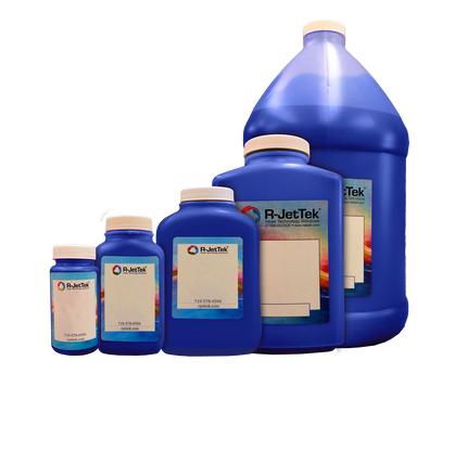 Cyan Ink - Actual containers may have different shapes.
