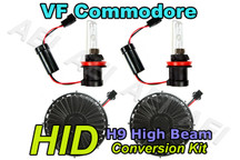 Holden VF Commodore High Beam Headlight HID Conversion Kit (CANBUS H9 55W)