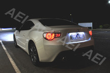 2 X T10 LED Bulbs for Toyota 86 (ZN6) Subaru BRZ (ZC6) Number Plate Lights