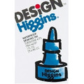 HIggins Drawing Ink Turquoise Blue  Pen Mountain