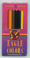 "Eagle Colored Pencils 4 1/2"" easy to use or carry - Pen Mountain"