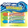 Expo Washable Dry Erase Marker 3 Color Set  Bullet:Blue, Green, Orange - Pen Mountain