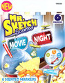 Mr Sketch Movie Night Chisel 6 ct set  Pen Mountain