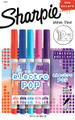 Sharpie Electro POP Ultra Violet right end of photo  Pen Mountain