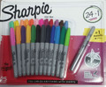 Great value for your favorite Sharpie Brand.  24 pc assorted fine point Sharpie with Bonus Metallic Silver Sharpie!