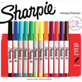 Sharpie Ultra Fine Marker 12 Color Set: Aqua, Berry, Black, Blue, Brown, Green, Lime, Orange, Purple, Red, Turquoise, Yellow - Kingpen