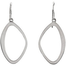 Ladies Sterling Silver Drop Style Earrings