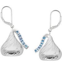 HERSHEY'S KISSES® Sterling Silver Leverback Earrings