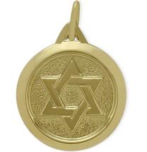 Yellow Gold 14 Karat Star of David Pendant