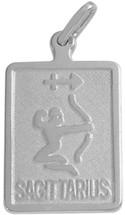 Sterling Silver Sagittarius Zodiac Pendant