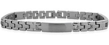 7mm Designer Magnetic Steel Men's Bracelet