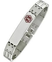 Stainless Steel 10mm Medical Bracelet