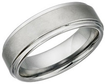 7mm Tungsten Carbide Comfort Fit Ring
