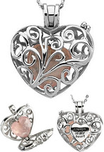 Sterling Silver Always In My Heart Locket ~ Deborah J. Birdoes