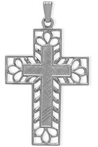 Classy Sterling Silver Religious Cross
