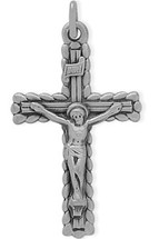 Sterling Silver Religious Stylish Crucifix