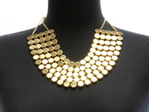 Layered Multistrand Necklace & Earring Set