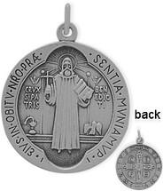 Sterling Silver Religious Medal Medallion