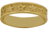 Yellow Gold Seven Star Expression Ring